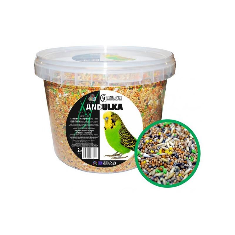 Lolo Pets FINE PET Super Mix andulka 2 kg