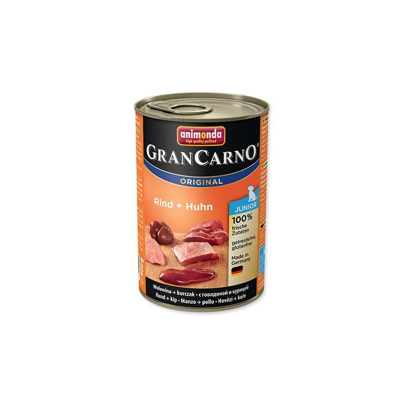 FELIX Konzerva ANIMONDA Gran Carno Junior hovězí + kuře 400g