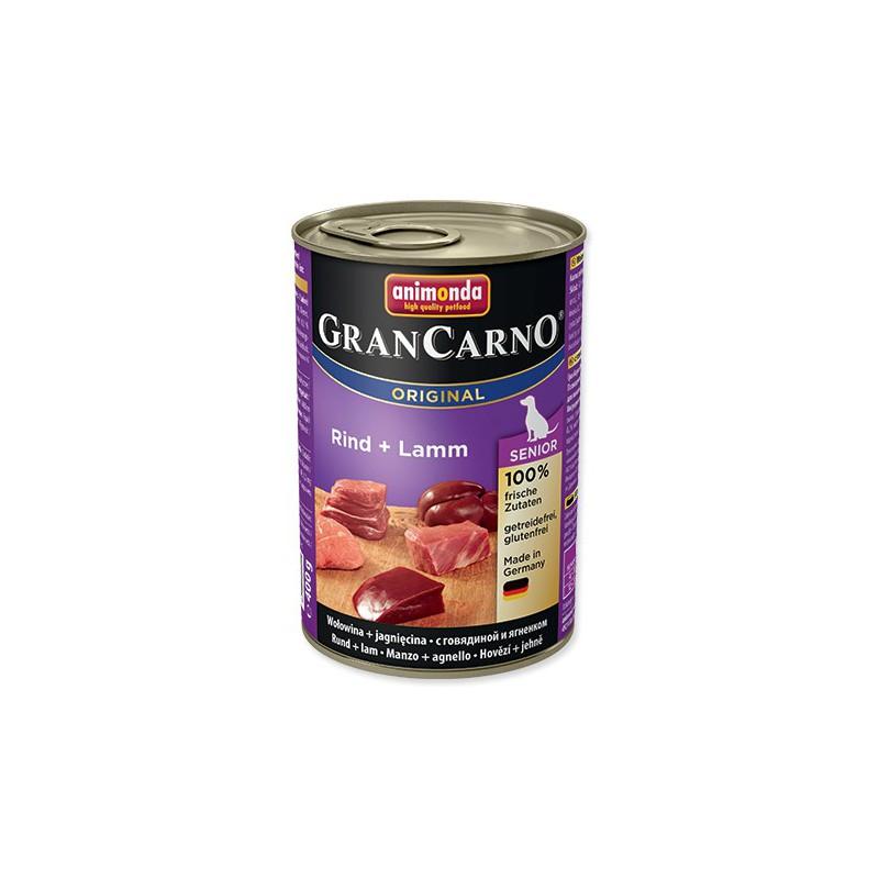 FELIX Konzerva ANIMONDA Gran Carno Senior hovězí + jehně 400g