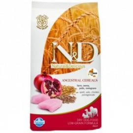 N&D Low Grain DOG Light M/L Chicken&Pomegranate 12kg
