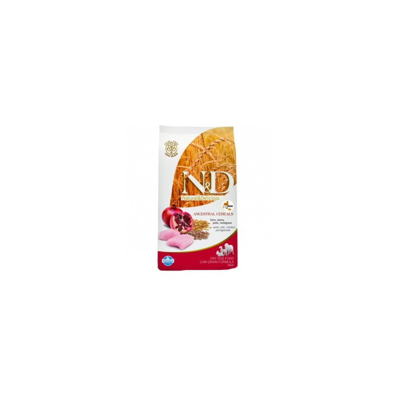 Farmina Pet Foods - N&D N&D Low Grain DOG Light M/L Chicken&Pomegranate 12 kg (DOPRAVA ZDARMA)