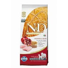 N&D Low Grain DOG Senior M/L Chicken&Pomegr 12kg