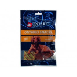 Snack ONTARIO Dog Dry Rabbit Fillet 70g