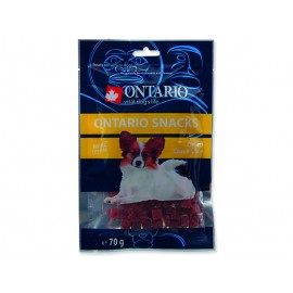 Snack ONTARIO Dog Duck Dice Small dog 70g