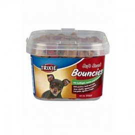 Trixie BOUNCIES mini kostičky kuř/jehně/dršť 140 g TR