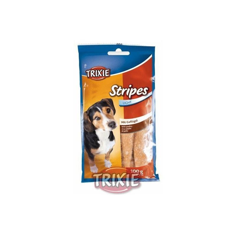 Trixie GmbH a Co.KG Trixie STRIPES light drůbeží pro psy 10 ks 100 g TR