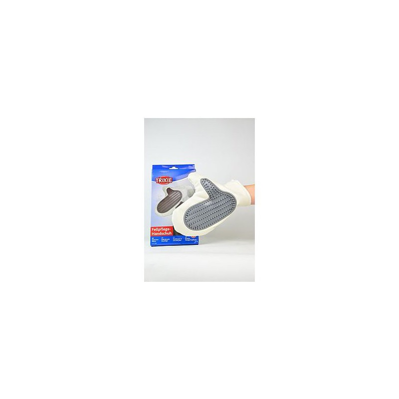 Trixie GmbH a Co.KG Rukavice vyčesávací koženka s gumou Trixie 1 ks
