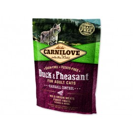 CARNILOVE Duck and Pheasant Adult Cats Hairball Control 400g