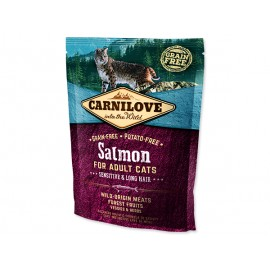 CARNILOVE Salmon Adult Cats Sensitive and Long Hair 400g