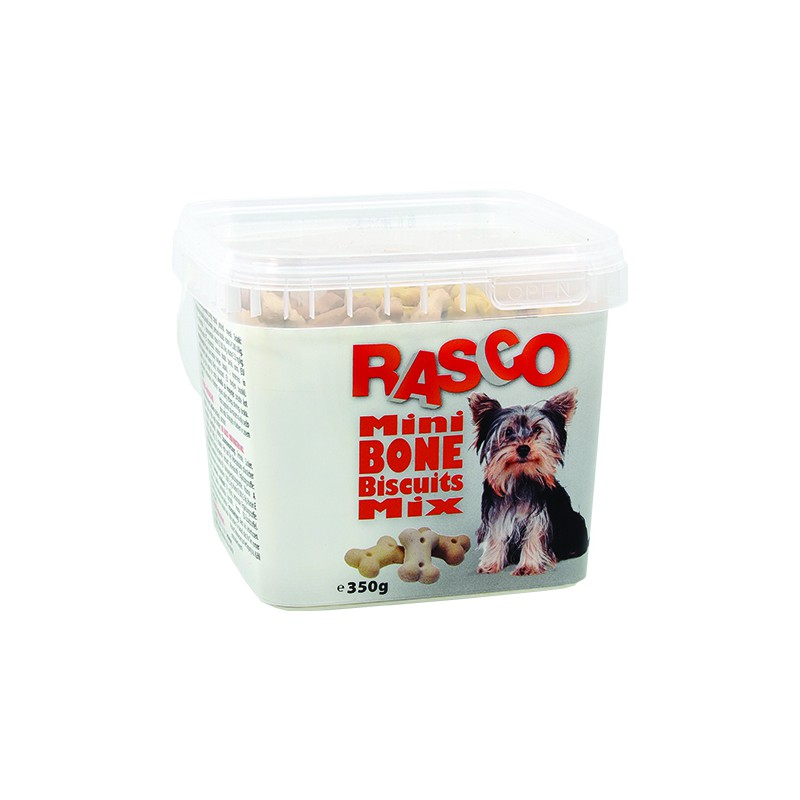 Rasco Sušenky RASCO Dog mikro kosti mix 350g