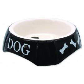 Miska DOG FANTASY potisk Dog černá 18,5 cm 1ks