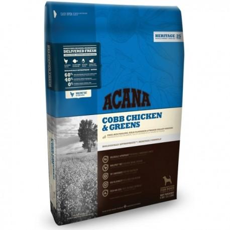 Acana Dog Cobb Chicken&Greens Heritage 2kg