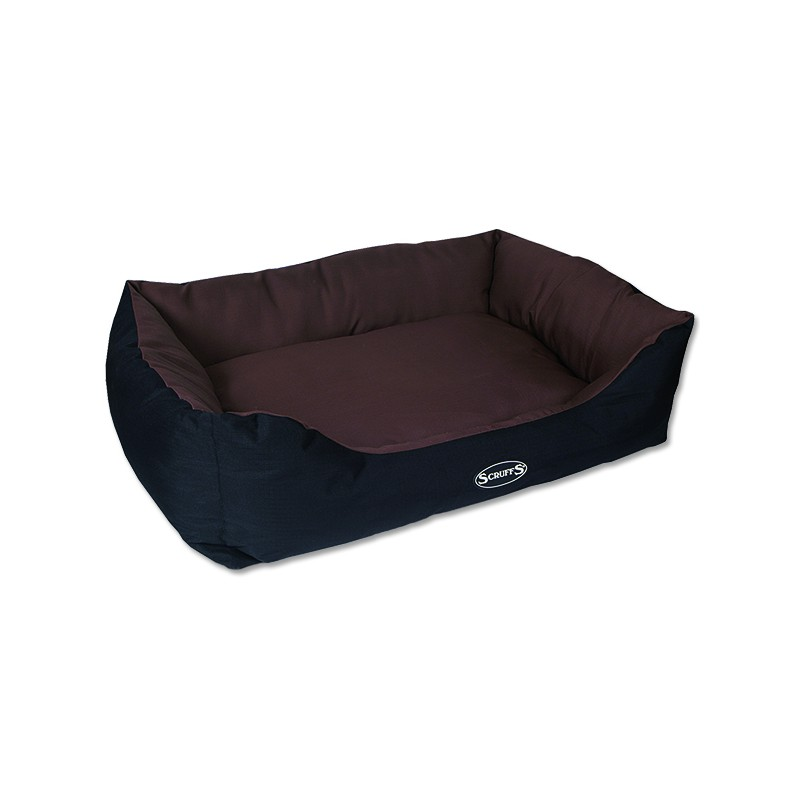 Scruffs Pelíšek SCRUFFS Expedition Box Bed čokoládový XL 1ks