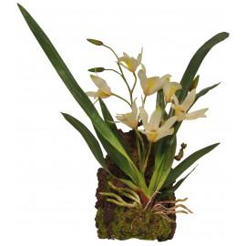 Lucky Reptile Závěsná orchidej - bílá cca 20x30 cm