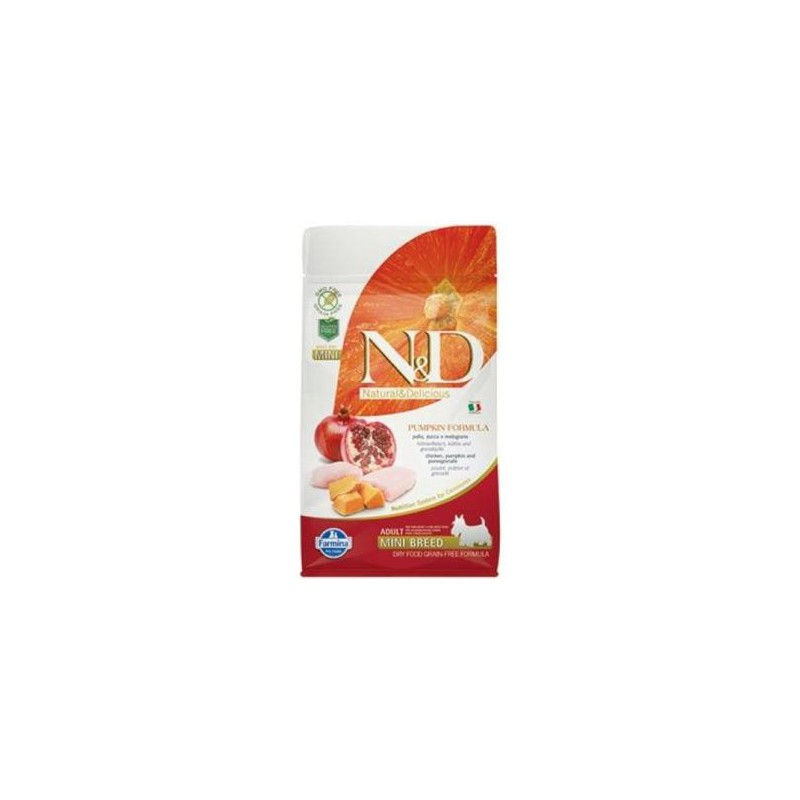 Farmina Pet Foods - N&D N&D GF Pumpkin DOG Adult Mini Chicken&Pomegranate 7 kg