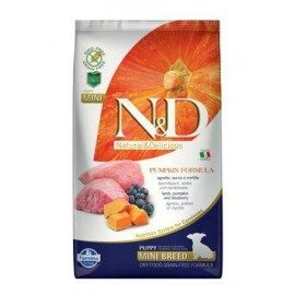 N&D GF Pumpkin DOG Puppy Mini Lamb & Blueberry 2,5 kg