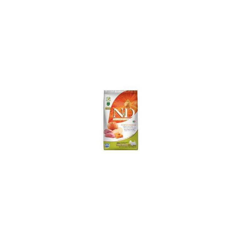 Farmina Pet Foods - N&D N&D GF Pumpkin DOG Adult Mini Boar & Apple 2,5 kg