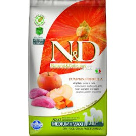 N&D GF Pumpkin DOG Adult M/L Boar & Apple 2,5 kg