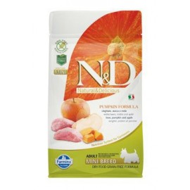 N&D GF Pumpkin DOG Adult Mini Boar & Apple 800 g