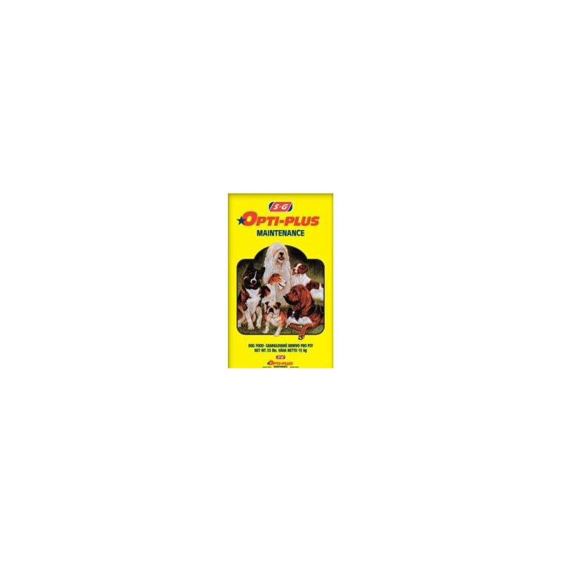 DA-KAR PET FOOD s.r.o. Shurgain Opti Plus Maintenance 15 kg