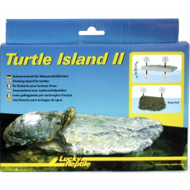 Lucky Reptile Turtle Island II střední, cca 29x18x5 cm