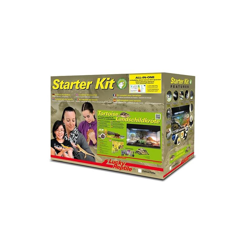 Lucky Reptile Starter Kit Tortoise 80x40x52 cm černé