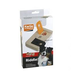 Karlie-Flamingo Interaktivní dřevěná hračka RIDDLE 22x12cm