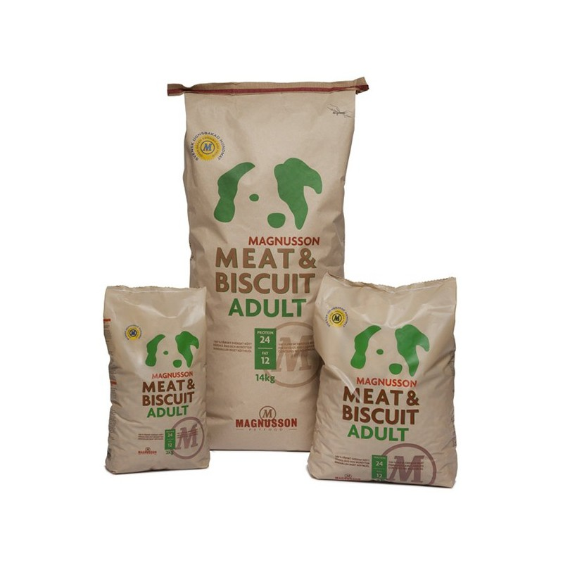 Magnusson Petfood AB Magnusson Meat&Biscuit Adult 14 kg