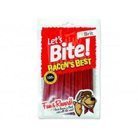 Snack BRIT Dog Lets Bite Bacon`s Best 105g