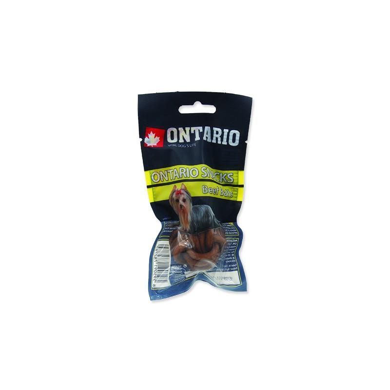 Ontario Snack ONTARIO Dog Rawhide Ball 3,75 cm 2ks