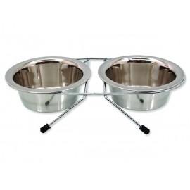 Stojánek DOG FANTASY nerezová souprava 2 x 380 ml 0,76l