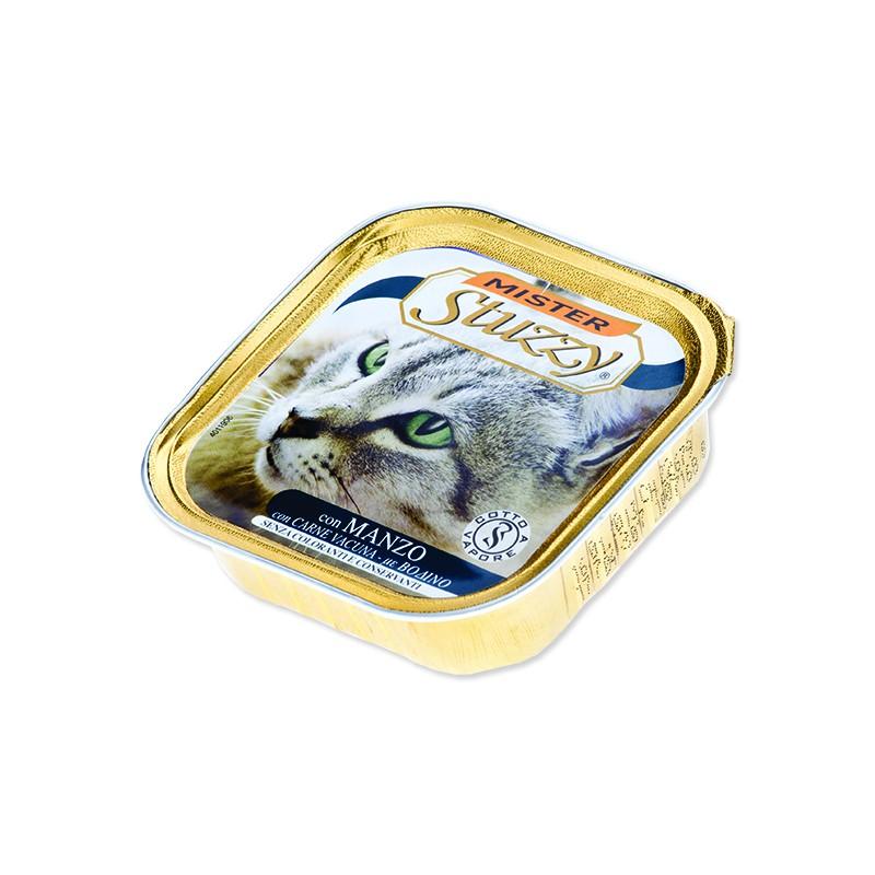 SCHESIR Vanička MISTER STUZZY Cat hovězí 100g