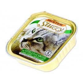 Vanička MISTER STUZZY Cat telecí + mrkev 100g