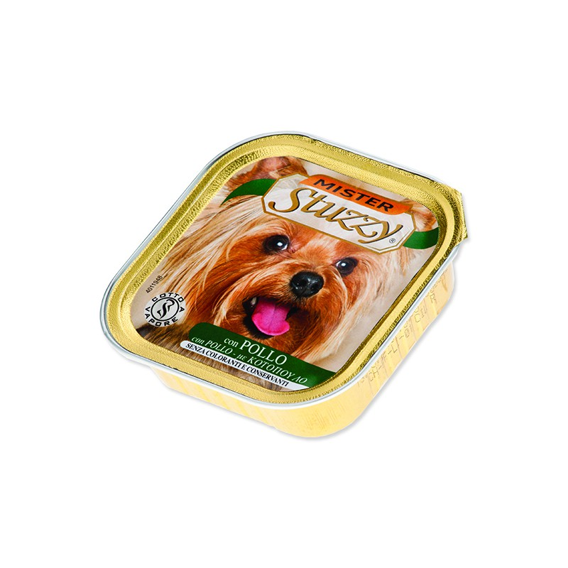 SCHESIR Vanička MISTER STUZZY Dog kuřecí 150g