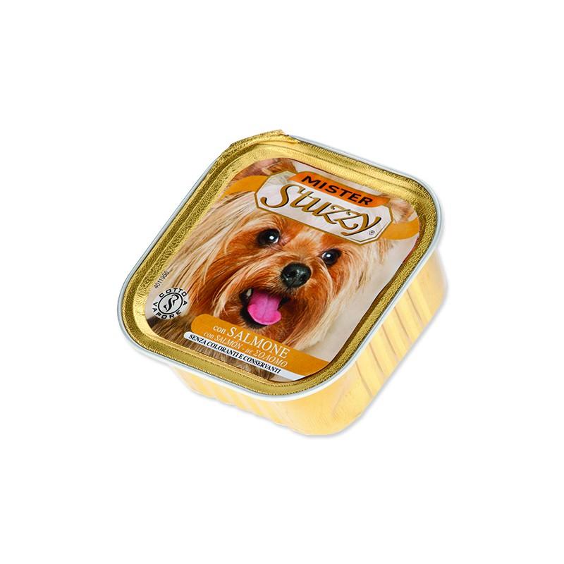 SCHESIR Vanička MISTER STUZZY Dog losos 150g