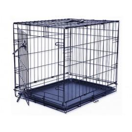Klec DOG FANTASY skládací černá S - 1 dveře 1ks