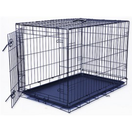 Klec DOG FANTASY skládací černá L - 1 dveře 1ks