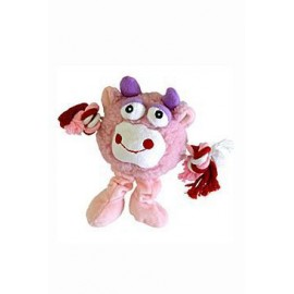 Hračka pes Trio Monster Friend růžový plyš 21 cm
