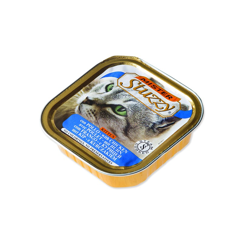 SCHESIR Vanička MISTER STUZZY Kitten kuřecí 100g