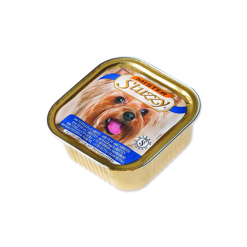 SCHESIR Vanička MISTER STUZZY Dog telecí + mrkev 150g
