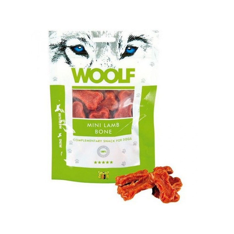 WOOLF Snack WOOLF pochoutka mini lamb bone 100 g