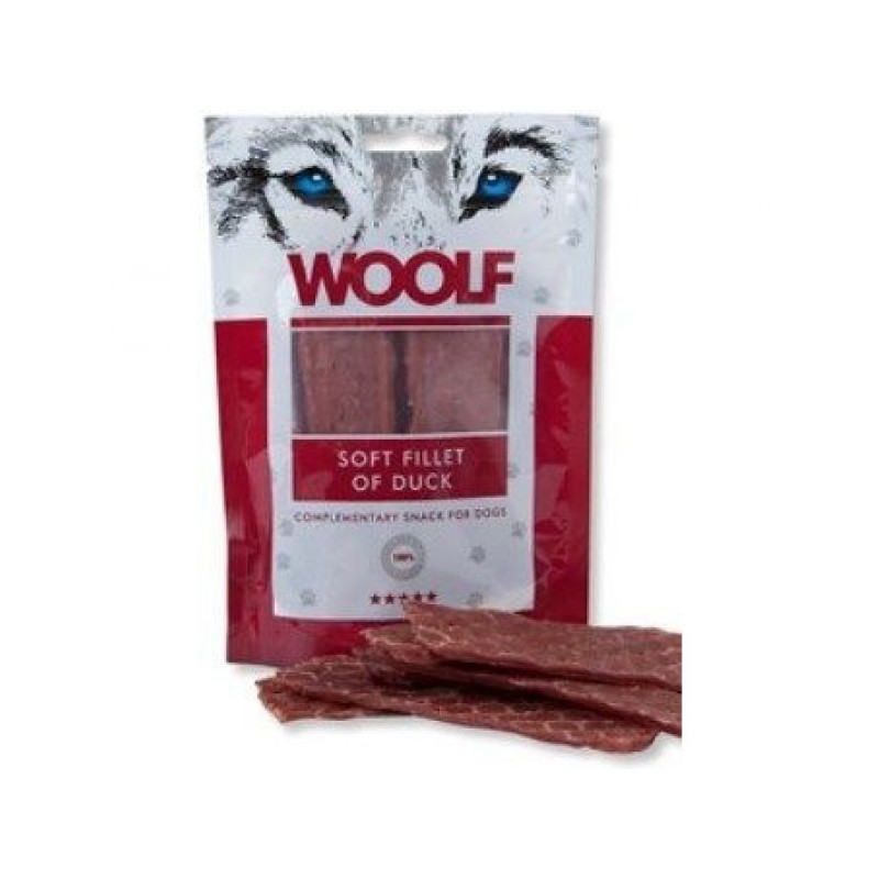 WOOLF Snack WOOLF pochoutka soft fillet of duck 100 g
