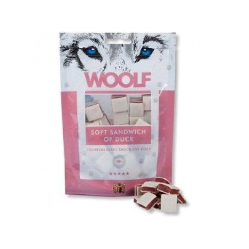 WOOLF Snack WOOLF pochoutka soft sandwich of duck 100 g