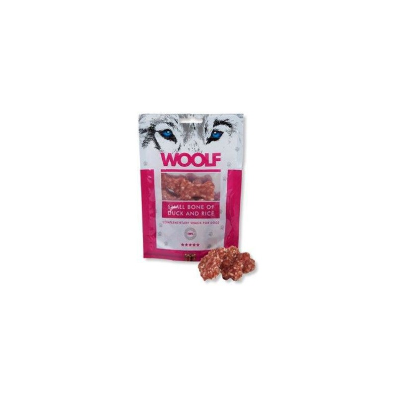 WOOLF Snack WOOLF pochoutka small bone of duck and rice 100 g