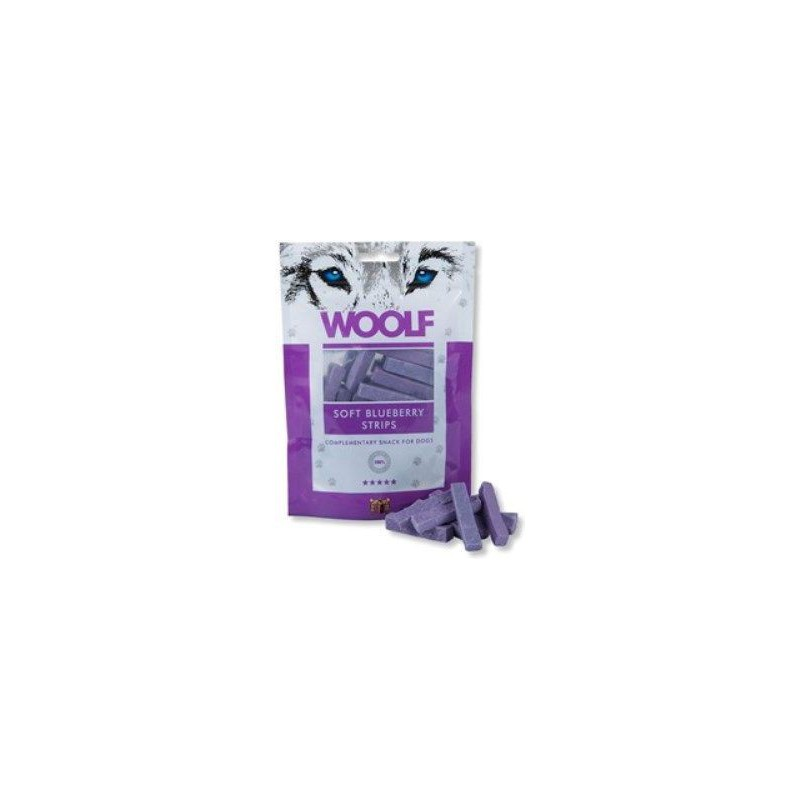 WOOLF Snack WOOLF pochoutka soft Blueberry strips 100 g