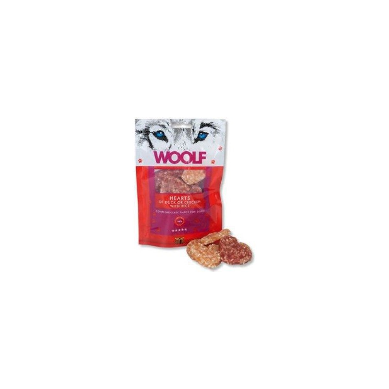 WOOLF Snack WOOLF pochoutka welcome hearts 100 g