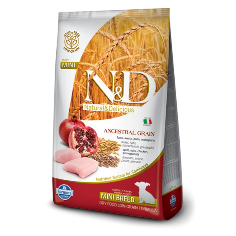 Farmina Pet Foods - N&D N&D LG DOG Puppy Mini Chicken & Pomegr 7 kg