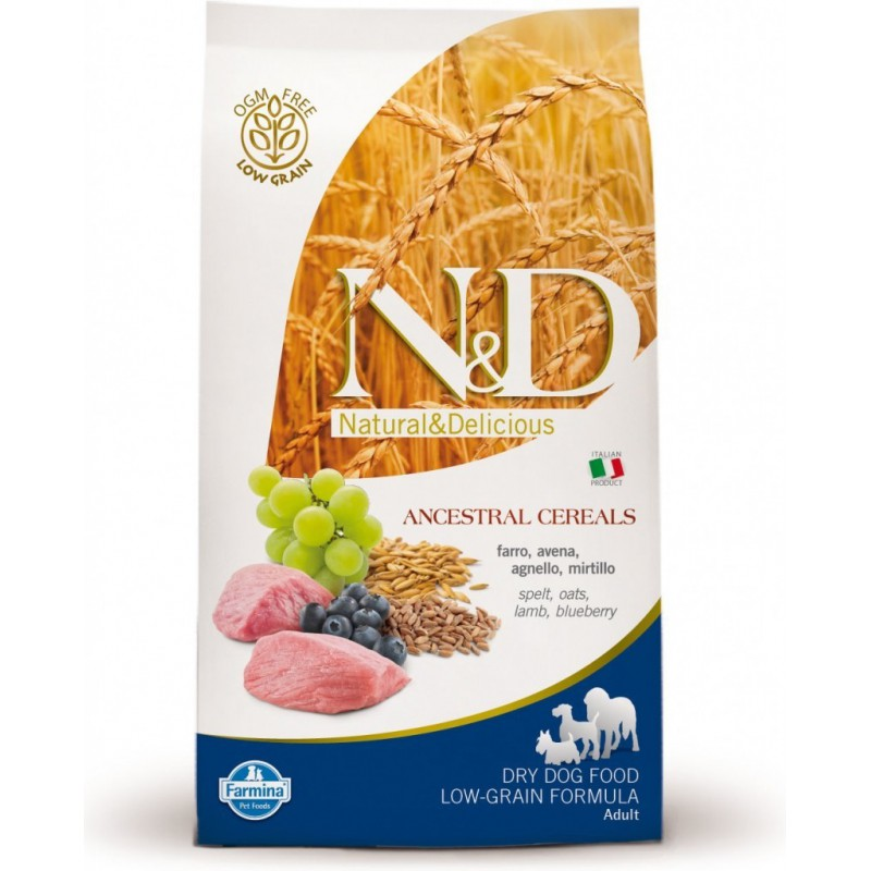 Farmina Pet Foods - N&D N&D LG DOG Adult Mini Lamb & Blueberry 7 kg