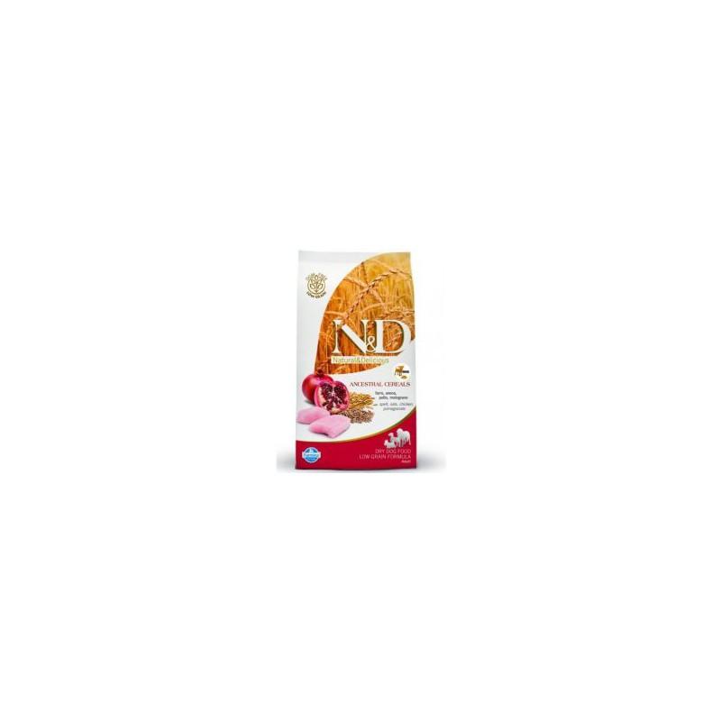 Farmina Pet Foods - N&D N&D LG DOG Adult Mini Chicken & Pomegranate 7kg