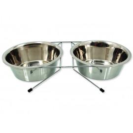 Stojánek DOG FANTASY nerezový souprava 2 x 1,57 l 3,14l